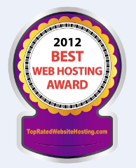 2012 Web Hosting Award